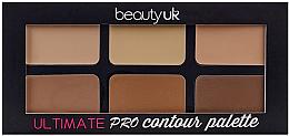 Düfte, Parfümerie und Kosmetik Konturierpalette - Beauty UK Ultimate PRO Contour Palette