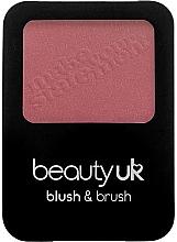 Düfte, Parfümerie und Kosmetik Gesichtsrouge mit Pinsel - Beauty UK Blush & Brush