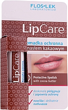 Düfte, Parfümerie und Kosmetik Lippenschutzbalsam mit Kakaobutter - Floslek Lip Care Protective Lipstick With Cocoa Butter