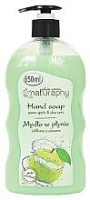 Düfte, Parfümerie und Kosmetik Flüssigseife mit grünem Apfel und Aloe Vera - Bluxcosmetics Naturaphy Hand Soap