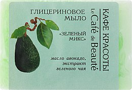 Düfte, Parfümerie und Kosmetik Glycerinseife mit Avocadoöl und Grüner Tee Extrakt - Le Cafe de Beaute Glycerin Soap
