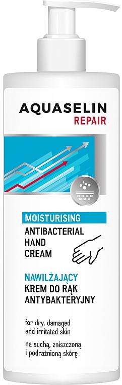 Antibakterielle Handcreme für trockene, strapazierte und irritierte Haut - Aquaselin Repair Hand Cream