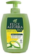 Düfte, Parfümerie und Kosmetik Flüssigseife mit Aloe Vera und Zitrone - Felce Azzurra BIO Aloe Vera & Lemon Liquid Soap