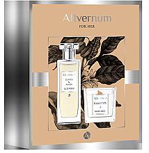 Düfte, Parfümerie und Kosmetik Duftset - Allvernum Coffee & Amber (Eau de Parfum 50ml + Duftkerze 100g)