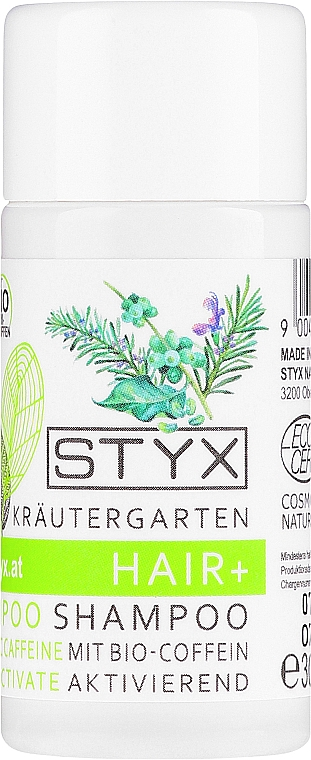 Kräftigendes und aufbauendes Shampoo mit Bio Koffein zum Haarwachstum - Styx Naturcosmetic