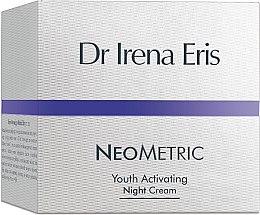 Düfte, Parfümerie und Kosmetik Verjüngende und aktivierende Nachtcreme für das Gesicht - Dr Irena Eris Neometric Youth Activating Night Cream