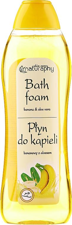 Badeschaum mit Banane und Aloe Vera - Bluxcosmetics Naturaphy Banana & Aloe Vera Bath Foam