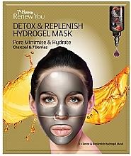 Düfte, Parfümerie und Kosmetik Entgiftende Hydrogel-Gesichtsmaske zur Porenverfeinerung mit Aktivkohle und 7 Beeren - 7th Heaven Renew You Detox Replenish Hydrogel Mask