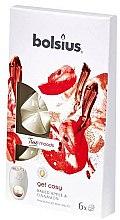 Düfte, Parfümerie und Kosmetik Tart-Duftwachs Baked Apple & Cinnamon - Bolsius True Moods Get Cosy Baked Apple & Cinnamon