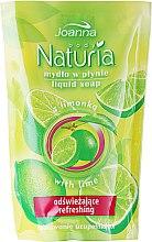Düfte, Parfümerie und Kosmetik Flüssigseife Lime - Joanna Naturia Body Lime Liquid Soap (Refill)