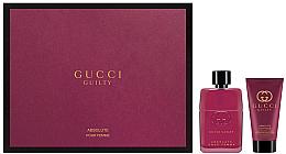 Düfte, Parfümerie und Kosmetik Gucci Guilty Absolute Pour Femme - Duftset (Eau de Parfum 50ml + Körperlotion 50ml)