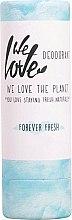 Düfte, Parfümerie und Kosmetik Feuchtigkeitsspendender Deostick Forever Fresh - We Love The Planet Forever Fresh Deodorant Stick