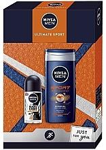 Düfte, Parfümerie und Kosmetik Körperpflegeset - Nivea Men Ultimate Sport (Duschgel 250ml + Deo Roll-on Antitranspirant 50ml)