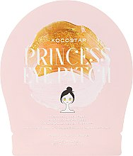 Düfte, Parfümerie und Kosmetik Goldglänzende Hydrogel-Augenpads mit Kamillenextrakt - Kocostar Princess Eye Patch