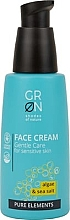 Düfte, Parfümerie und Kosmetik Gesichtscreme für empfindliche Haut mit Algen und Meersalz - GRN Pure Elements Algae & Sea Salt Face Cream