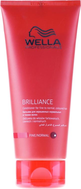 Conditioner für feines, normales und coloriertes Haar - Wella Professionals Brilliance Conditioner — Bild N1