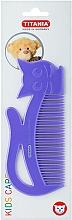 Düfte, Parfümerie und Kosmetik Kinder-Haarkamm Kids violett - Titania