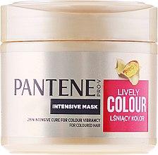 """Düfte, Parfümerie und Kosmetik Intensive Haarmaske """"Farbschutz und Glanz"""" - Pantene Pro-V Lively Colour"""