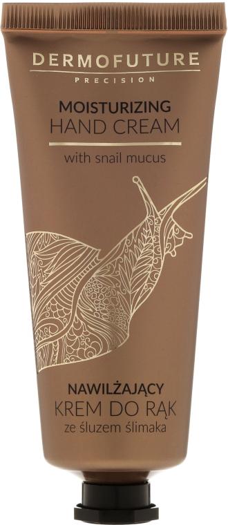Feuchtigkeitsspendende Handcreme mit Schneckenschleim - Dermofuture Moisturizing Hand Cream
