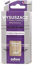 Düfte, Parfümerie und Kosmetik Nagellacktrockner - Ados Fast Dry Top Coat