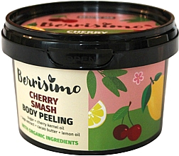 Düfte, Parfümerie und Kosmetik Körperpeeling mit Kirsche - Berrisimo Cherry Smash Body Peeling