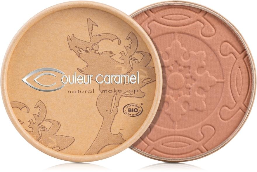 Bronzepuder mit Bio-Aprikosenkernöl und Bio-Kakaobutter gegen die ersten Fältchen - Couleur Caramel Cooked Powder