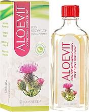 Düfte, Parfümerie und Kosmetik Pflegende und stärkende Flüssigkeit für Haar und Kopfhaut gegen Haarausfall - Kosmed Aloevit Nourishing & Strengthening