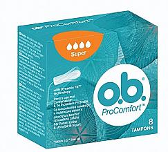 Düfte, Parfümerie und Kosmetik Tampons Super 8 St. 4 Tropfen - o.b. ProComfort Super Tampons