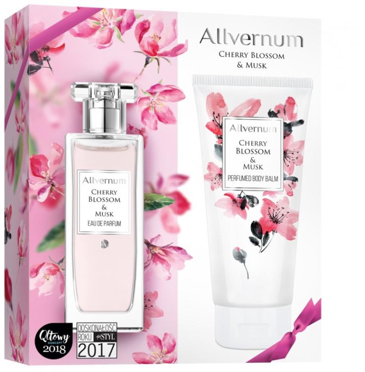 Allverne Cherry Blossom & Musk - Duftset (Eau de Parfum 50ml + Körperbalsam 200ml)