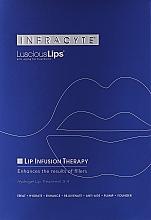 Düfte, Parfümerie und Kosmetik Anti-Aging Hydrogel-Lippenmaske - Infracyte Luscious Lips Anti-Aging Lip Treatment