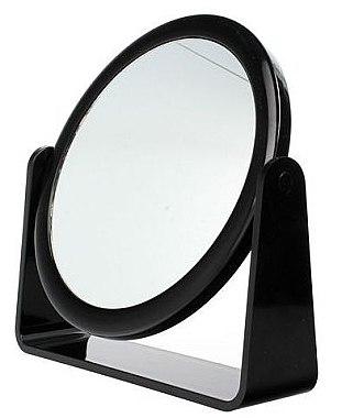 Doppelseitiger Kosmetikspiegel 85055 schwarz - Top Choice