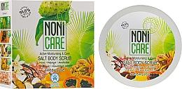 Düfte, Parfümerie und Kosmetik Intensiv feuchtigkeitsspendendes und pflegendes Körperpeeling mit Nonisaft und Himalayasalz - Nonicare Intensive Salt Body Scrub