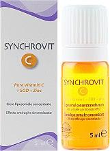 Düfte, Parfümerie und Kosmetik Anti-Falten Gesichtsserum mit Vitamin C, SOD und Zink - Synchroline Synchrovit C Serum