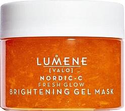 Düfte, Parfümerie und Kosmetik Erfrischende und exfolierende Gesichtsgel-Maske für strahlende Haut - Lumene Valo Nordic-C Fresh Glow Brightening Gel Mask