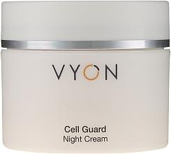Düfte, Parfümerie und Kosmetik Reichhaltige Anti-Aging Nachtcreme gegen Falten - Vyon Cell Guard Cream