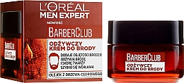 Düfte, Parfümerie und Kosmetik Pflegende Bartcreme mit Zedernholzöl - L'Oreal Paris Men Expert Barber Club