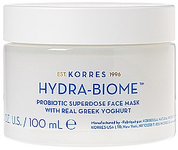Düfte, Parfümerie und Kosmetik Gesichtsmaske mit griechischem Joghurt - Korres Greek Yoghurt Hydra-Biome Probiotic Superdose Face Mask