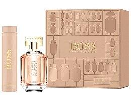 Düfte, Parfümerie und Kosmetik Hugo Boss The Scent For Her - Duftset (Eau de Parfum 100ml + Körperlotion 200ml)