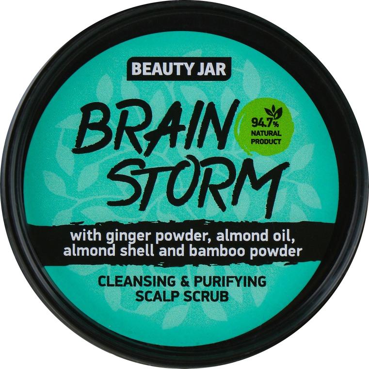 Reinigungspeeling für die Kopfhaut mit Ingwerpulver und Mandelöl - Beauty Jar Cleansing & Purifying Scalp Scrub
