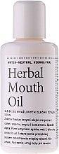 Düfte, Parfümerie und Kosmetik Kräuter-Mundöl - Hydrophil Herbal Mouth Oil