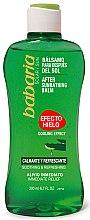 Düfte, Parfümerie und Kosmetik Kühlender und erfrischender After Sun Körperbalsam mit Aloe Vera - Babaria After Sun Balm