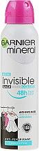 Düfte, Parfümerie und Kosmetik Deospray Antitranspirant - Garnier Mineral Invisible Black White Colors