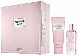 Düfte, Parfümerie und Kosmetik Abercrombie & Fitch First Instinct - Duftset (Eau de Parfum 50ml+Körperlotion 100ml)
