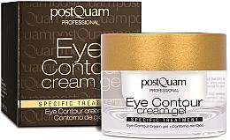 Düfte, Parfümerie und Kosmetik Creme-Gel für die Augenpartie - PostQuam Eye Contour Cream Gel