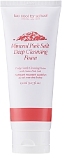 Düfte, Parfümerie und Kosmetik Sanfter Gesichtsreinigungsschaum mit natürlichem rosa Salz - Too Cool For School Mineral Pink Salt Deep Cleansing Foam