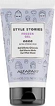 Düfte, Parfümerie und Kosmetik Langanhaltendes Haargel Extra starker Halt - Alfaparf Style Stories Frozen Gel Extra-Strong Hold