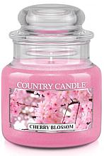 Düfte, Parfümerie und Kosmetik Duftkerze im Glas Cherry Blossom - Country Candle Cherry Blossom