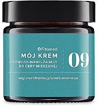 Düfte, Parfümerie und Kosmetik Feuchtigkeitsspendende und pflegende Gesichtscreme für Mischhaut - Fitomed Face Cream №9