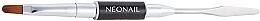 Düfte, Parfümerie und Kosmetik 2in1 Maniküre-Pinsel und Spatel für Acrylgel - NeoNail Professional Duo Acrylgel Brush