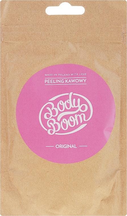 Glättendes Körperpeeling mit Kaffee - BodyBoom Coffee Scrub Original